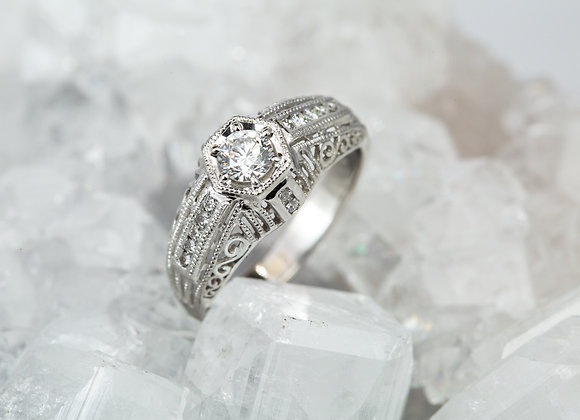 Antique Scroll-Work Ring