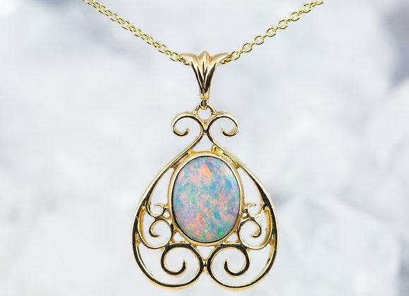 Opal Scroll-work
