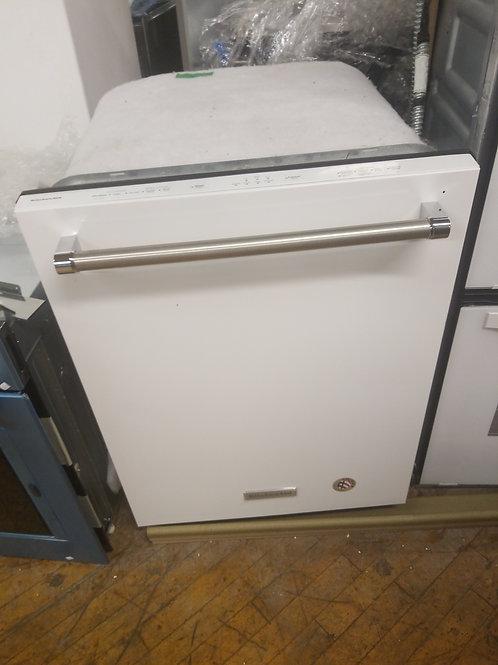 KitchenAid 46-Decibel Built-In Dishwasher (White)