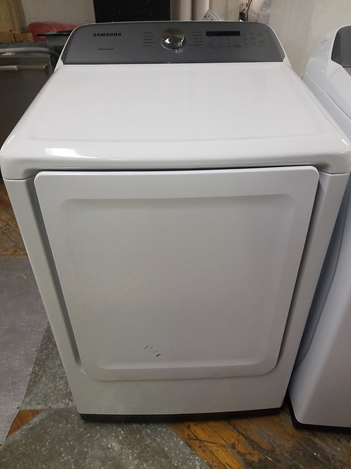 Samsung - 7.4 Cu. Ft. 10-Cycle Electric Dryer - White