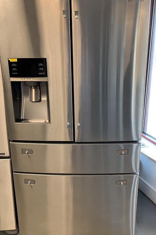 Samsung - 27 Cu. Ft. 4-Door French Door Refrigerator with Thru-the-Door Ice