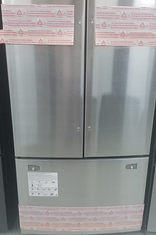 Samsung 25.5-cu ft French Door Refrigerator with Ice Maker (Stainless Steel)