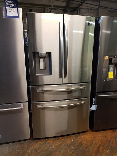 Samsung 22.6-cu ft 4-Door Counter-depth French Door Refrigerator