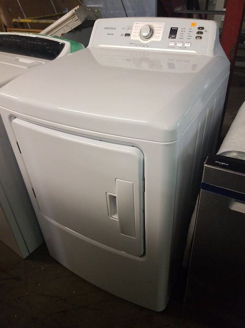 Insignia™ - 6.7 Cu. Ft. 10-Cycle Electric Dryer - White