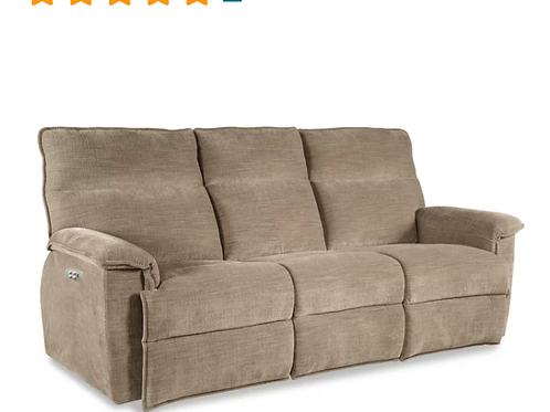 Jay La-Z-Time® Power-Recline with Power Headrest Full Reclining Sofa