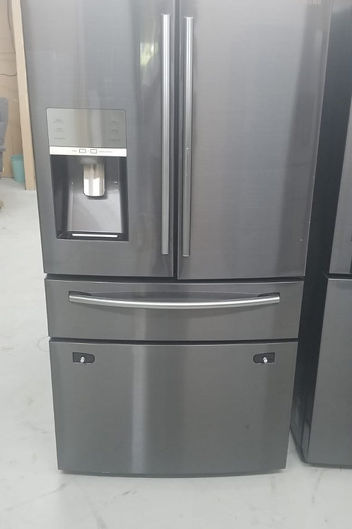 Samsung - 27.8 Cu. Ft. 4-Door French Door Refrigerator with Food ShowCase