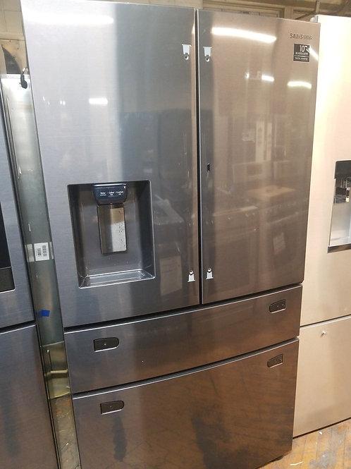 Samsung Food Showcase 28-cu ft 4-Door Standard-Depth French Door Refrigerator