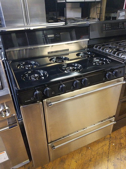 36 Inch 6 Burners Commercial Style Gas Range with 3.9 cu. ft. Manual Clean Oven