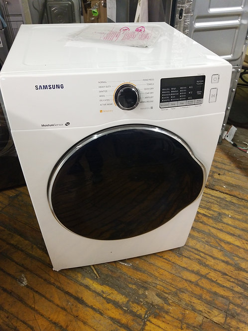 "Samsung - 4.0 cu. ft. 24"" Ventless Heat Pump Electric Dryer with Smart Care"