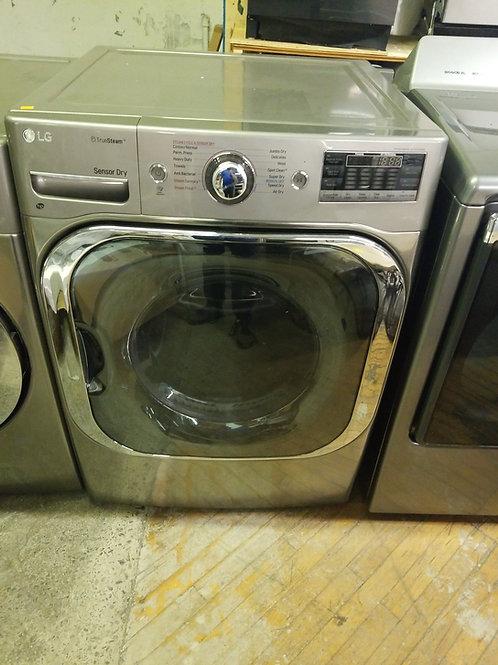 LG TrueSteam 9-cu ft Stackable Electric Dryer