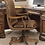 Thumbnail: Brookhaven Genuine Leather Bankers Chair