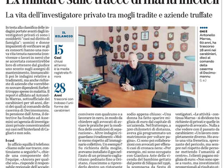 Intervista Unione Sarda al Dott. Marras