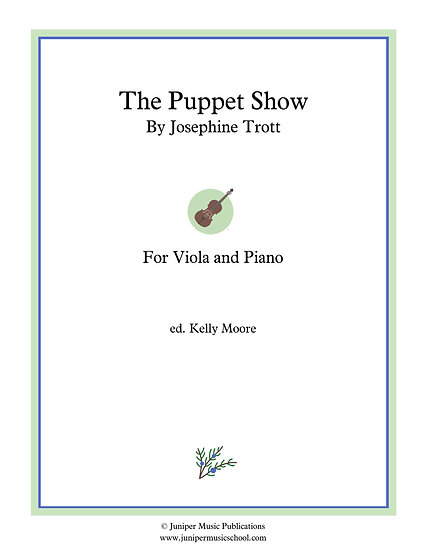 The Puppet Show for Viola and Piano