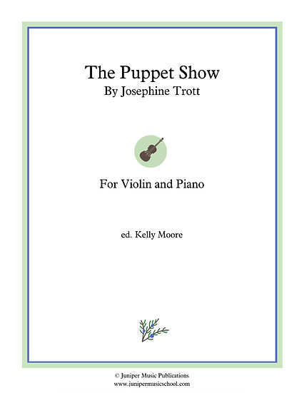 The Puppet Show for Violin and Piano