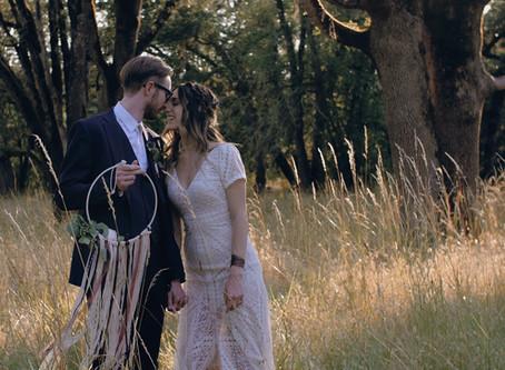 Wedding at Mt. Pisgah Arboretum in Eugene, Oregon