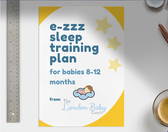 e-Zzz Sleep Training Plan 8-12 months