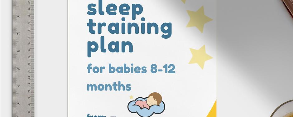 e-Zzz Sleep Training Plan 8-12 months