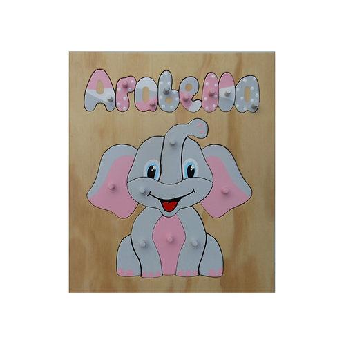 Elephant Name Puzzle