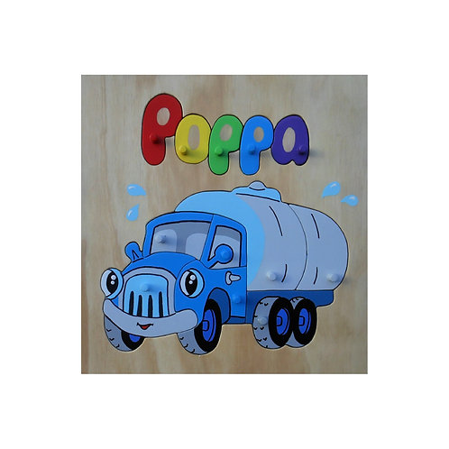 Tanker Truck Name Puzzle