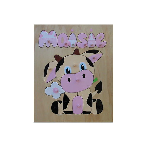 Cow Name Puzzle