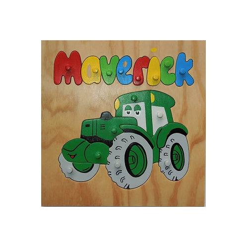 Tractor Name Puzzle