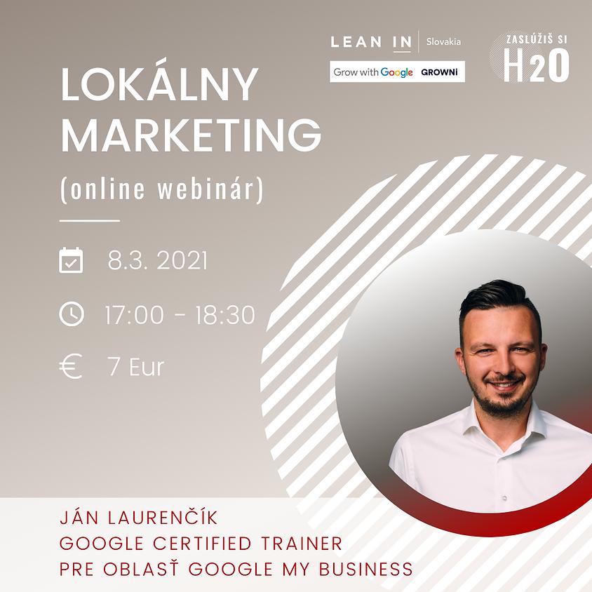 H2O VIP event: Lokálny marketing (online webinár)