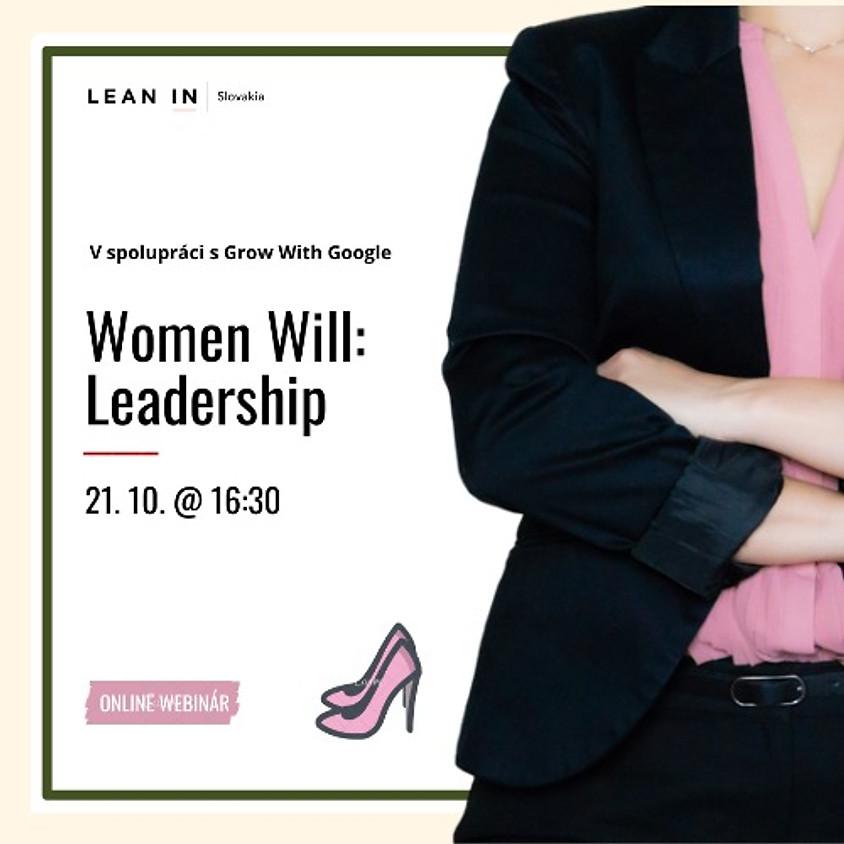 Women Will - Webinár pre Líderky