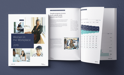Annual report Women at The Workplace is produced by Lean In in cooperation with McKinsey and Company