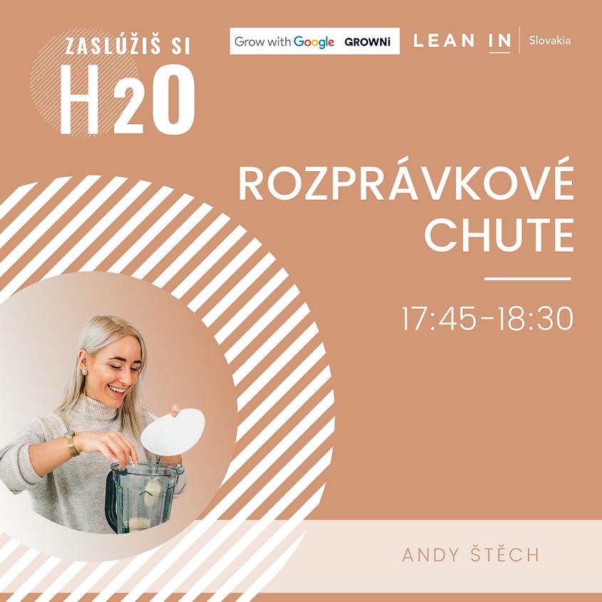 H2O event: Rozprávkové chute