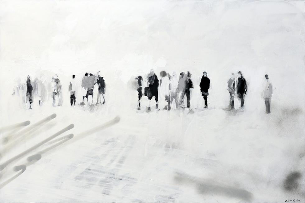 Leszek Skurski - Vortag - 80x120 cm - Ac