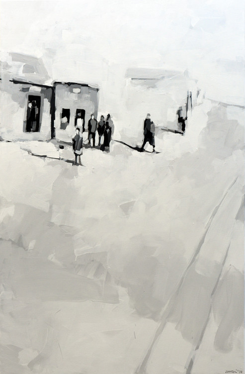 Leszek Skurski - Judenviertel - 120x80 c