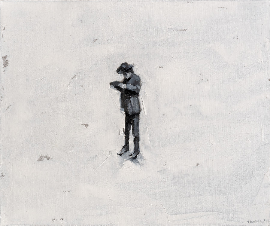 Leszek Skurski - Lonely Cowboy - 50x60 c