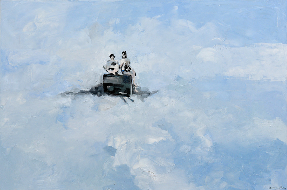 Leszek Skurski - Waiting - 80x120 cm - O