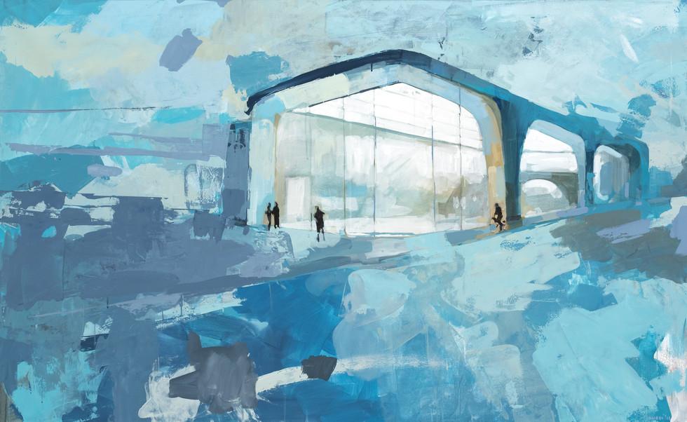 Leszek Skurski - Warehouse - 100x160 cm