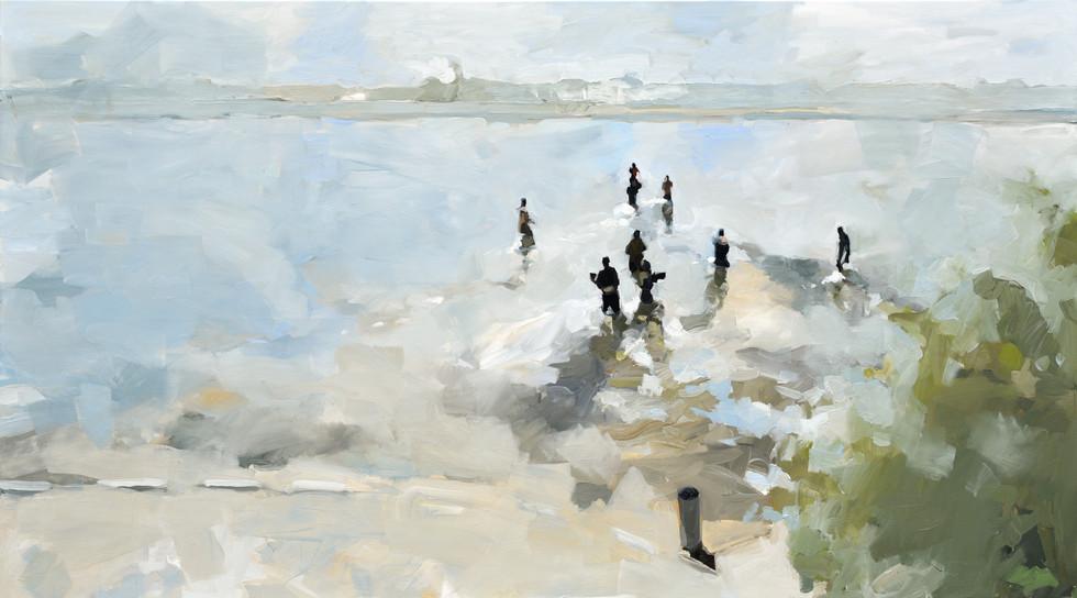 Leszek Skurski - Spirit Lake - 100x180 c
