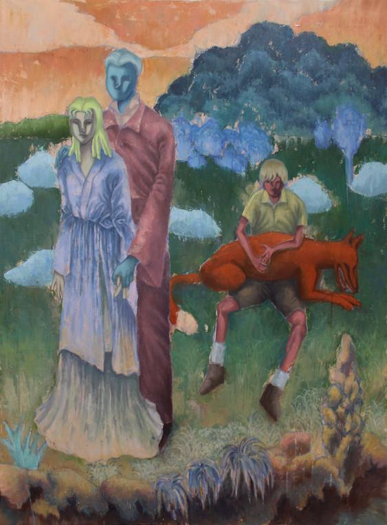 로메네부인, 해질녘의 평화_130x97cm_Oil on Canvas_20