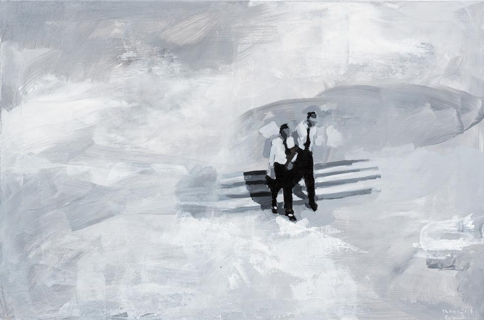 Leszek Skurski - Ray and Tony - 60x90 cm