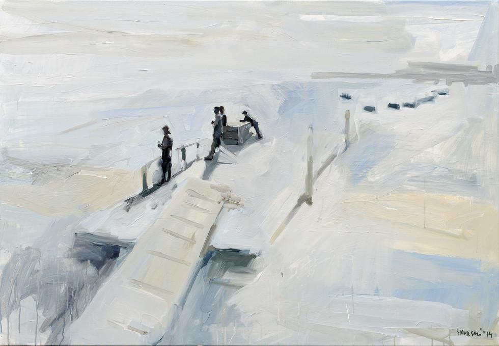 Leszek Skurski - Morgen - 90x130 cm - Ac