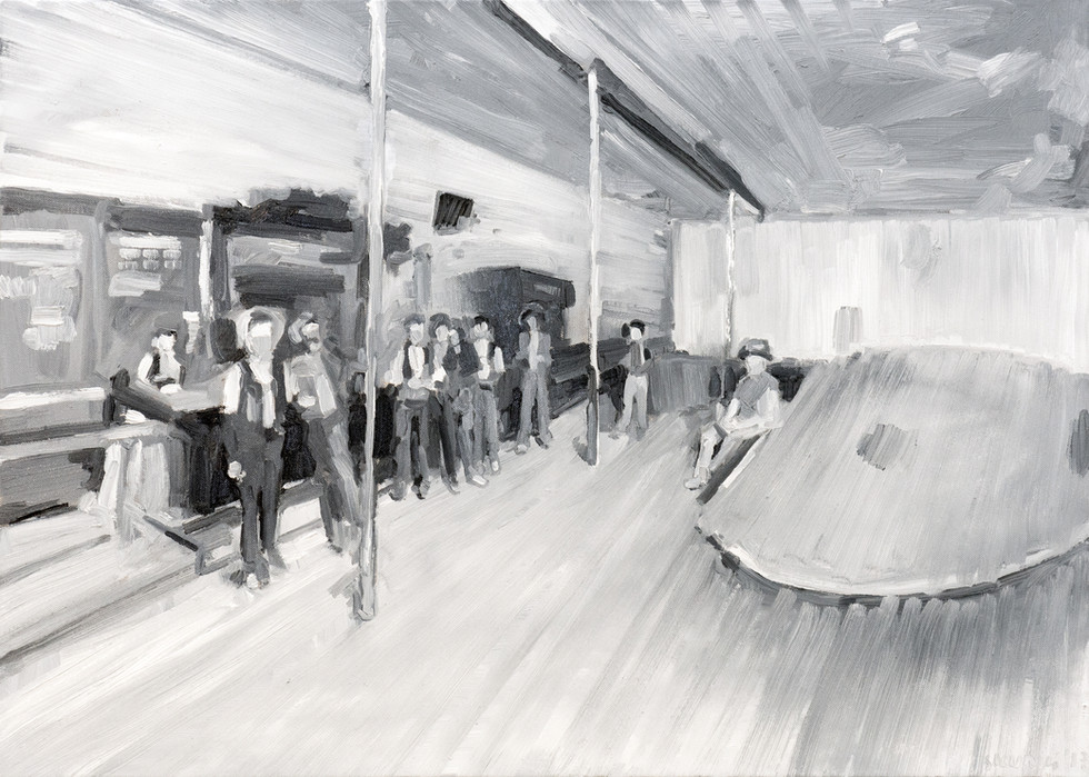 Leszek Skurski - Liquor House - 50x70 cm
