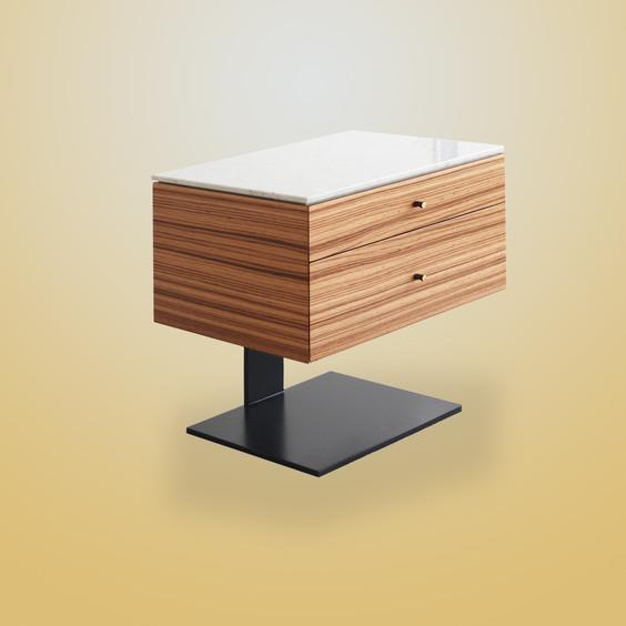 Ivar Fiennes Bedside Table Drawers