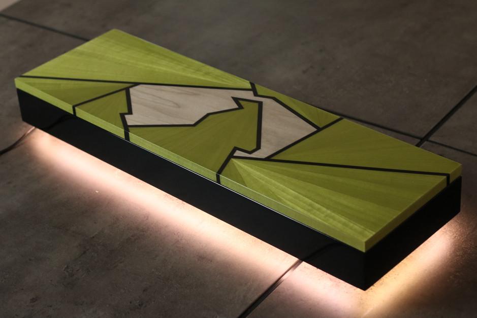 Ivar London - Silverstone box - green