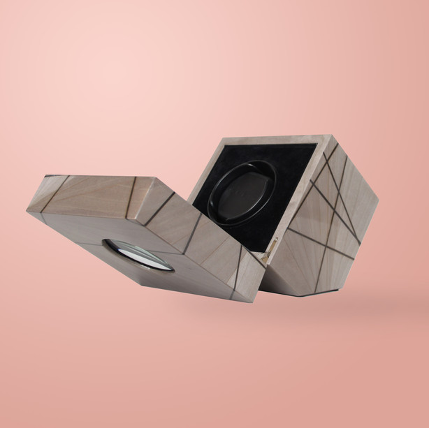 Ivar London - Time lines watch winder  - Grey
