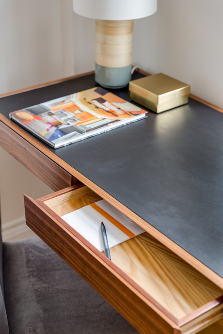 Wodehouse Desk Leather Top
