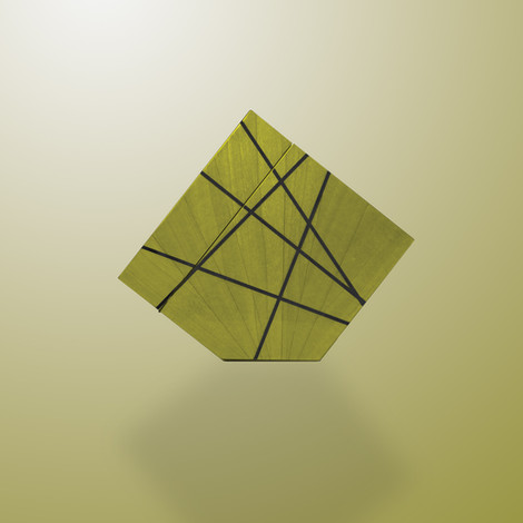 Ivar London - Time lines watch winder - green