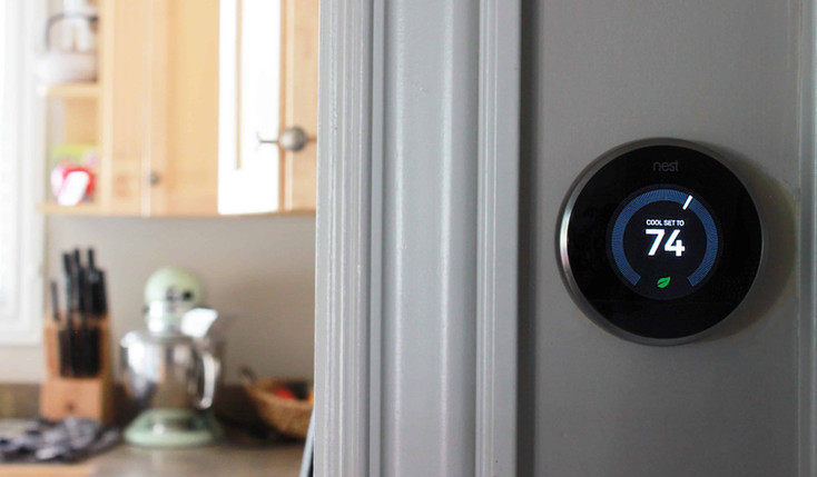 How the Nest thermostat works