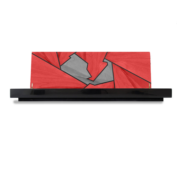 Ivar Silverstone Accassory Box Red Luxury Marquetry