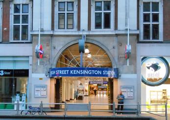 High Street KEnsington tube station