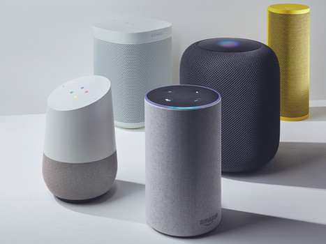 Smart speaker: a review of Apple homepod, Google home and Amazon echo