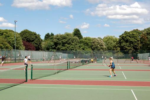 Hyde Park Tennis Court