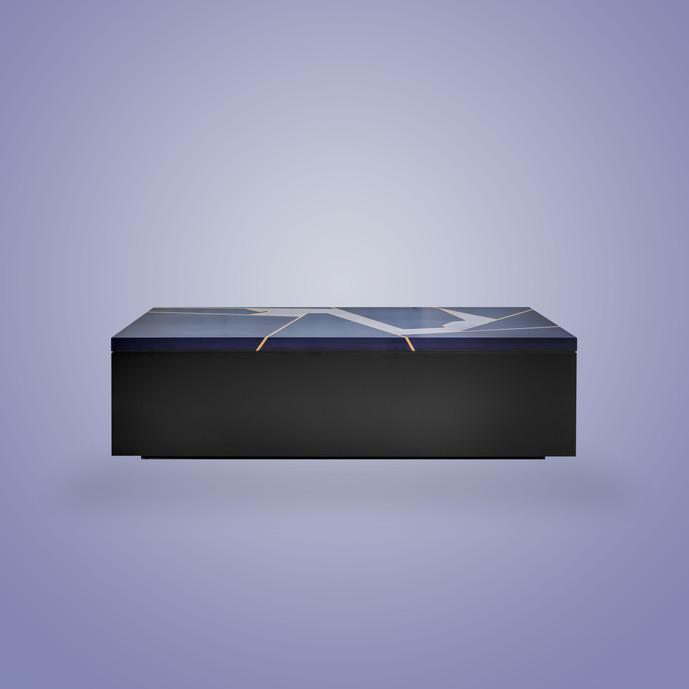 Ivar Monaco Coffee Table Black Formula1 Storage